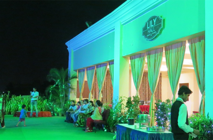 Lily Banquet Hall-Hotel Pushpak